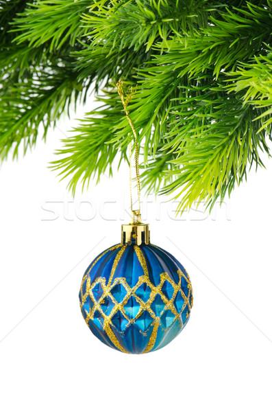 Noël décoration isolé blanche verre fond Photo stock © Elnur