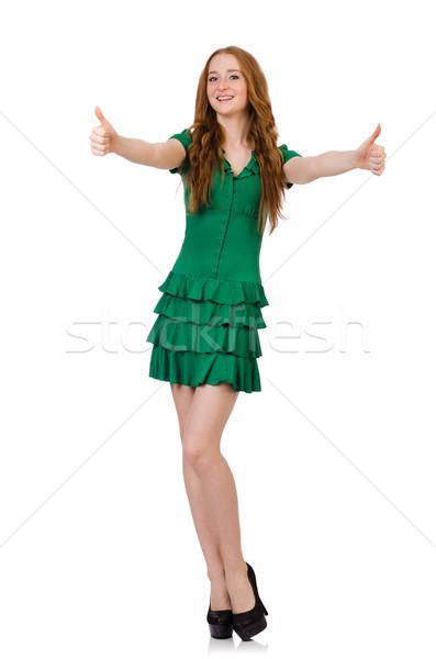 Woman in saint patrick concept Stock photo © Elnur