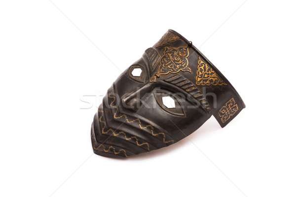 Metal mask isolated on white Stock photo © Elnur