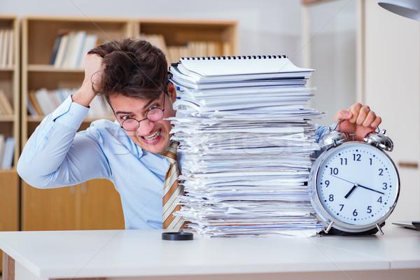 Affaires répondre rapport affaires homme Photo stock © Elnur
