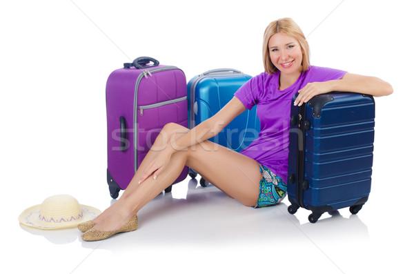 Mujer viaje vacaciones de verano negocios trabajo empresario Foto stock © Elnur