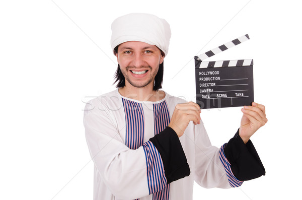 アラブ 男 多様 ビジネス 幸せ 作業 ストックフォト © Elnur