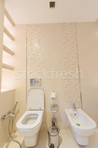WC stanza moderno interni design home Foto d'archivio © Elnur