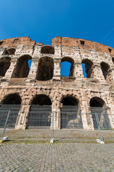 Ancient Rome ruines on bright summer day Stock photo © Elnur