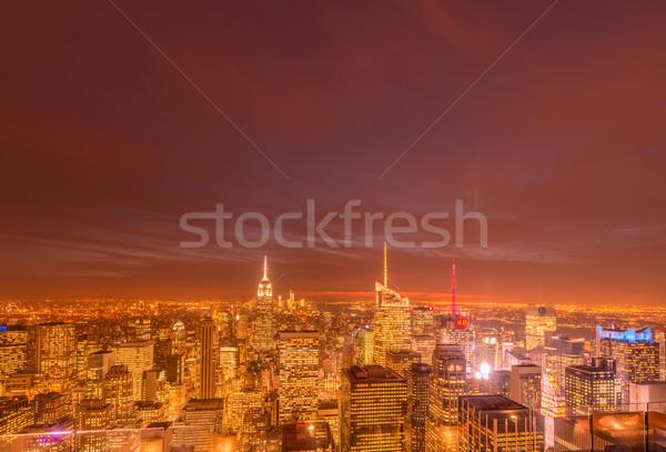 Nueva York diciembre 20 2013 vista bajar Foto stock © Elnur