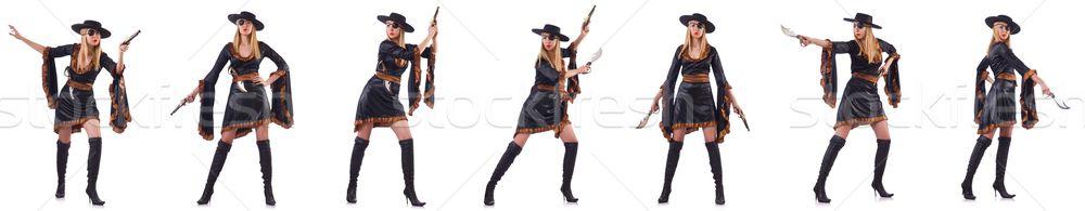 женщину пиратских различный белый стороны вечеринка Сток-фото © Elnur