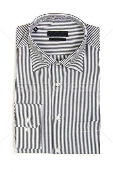 Agradable masculina camisa aislado blanco moda Foto stock © Elnur