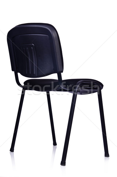 Black office chair isolated on white Stock photo © Elnur