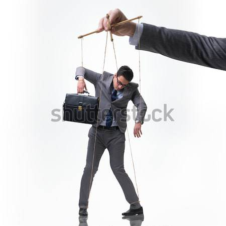 Stockfoto: Vrouw · zakenvrouw · dozen · witte · business · werk