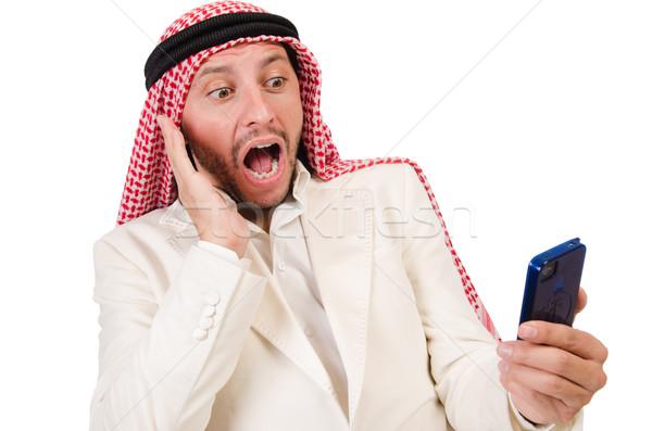 Arab uomo diversità business telefono imprenditore Foto d'archivio © Elnur