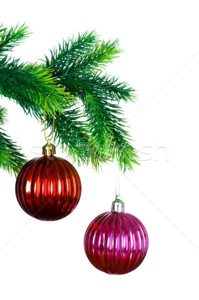Рождества украшение изолированный белый фон пространстве Сток-фото © Elnur