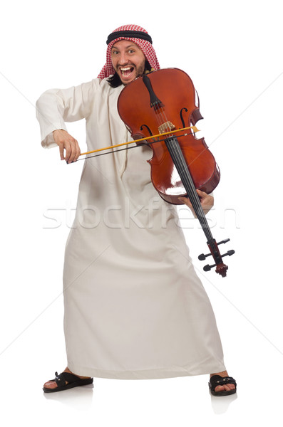 Stock fotó: Arab · férfi · játszik · hangszer · művészet · koncert