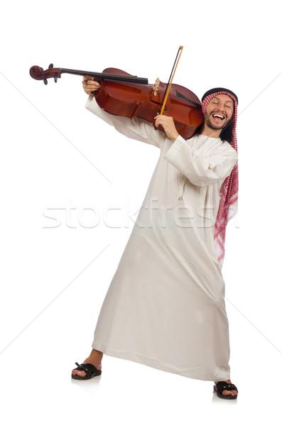 арабских человека играет музыкальный инструмент музыку стороны Сток-фото © Elnur