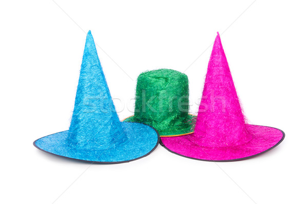 Party hats isolated on the white background Stock photo © Elnur