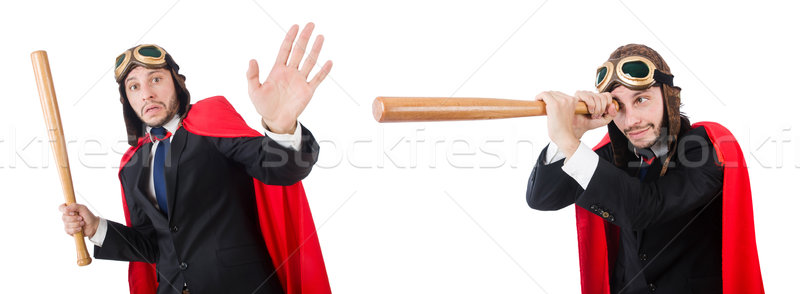 The man wearing red clothing in funny concept Stock photo © Elnur