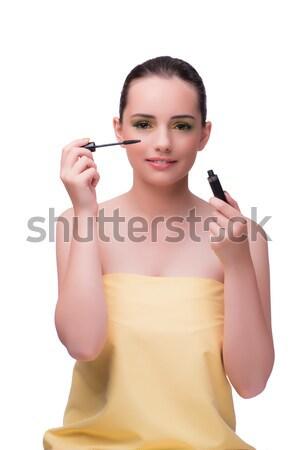 Nő szépség jelentkezik smink kozmetika szexi Stock fotó © Elnur