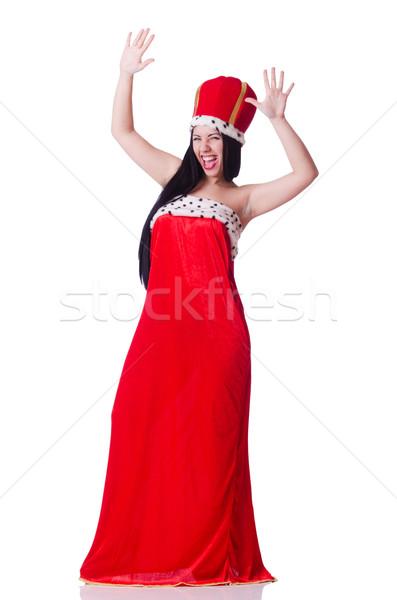 Queen businesswoman in business concept Stock photo © Elnur