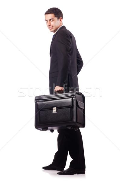 Fiatal üzletember üzleti út üzlet férfi munka Stock fotó © Elnur
