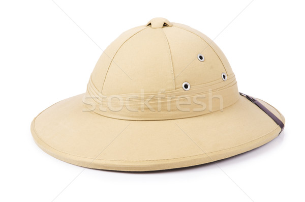 Safari hat isolated on the white Stock photo © Elnur