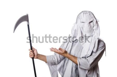 Scary halloween monster witte man lichaam Stockfoto © Elnur