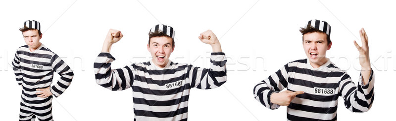 The funny prison inmate in concept Stock photo © Elnur