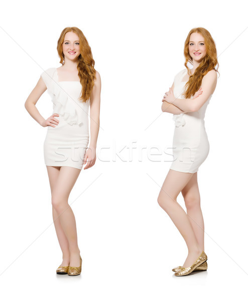 The woman in fashion clothing concept Stock photo © Elnur