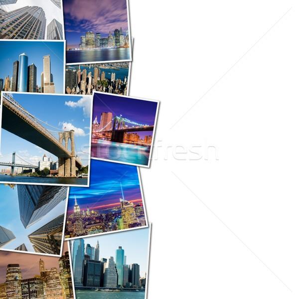 Collage of New York photos Stock photo © Elnur