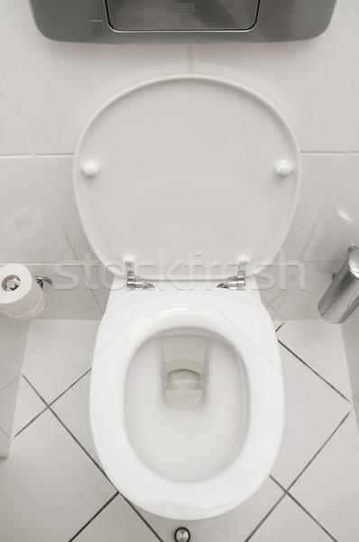 Stock photo: Toilet in the bathroom