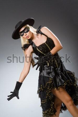Hombre aderezo mujer vestido funny jóvenes Foto stock © Elnur