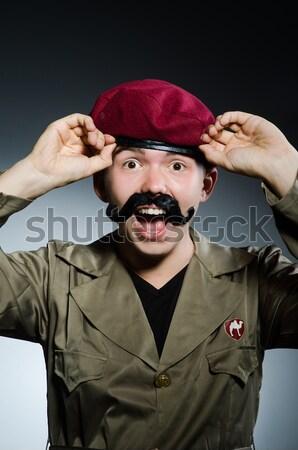 Hombre safari sombrero caza África persona Foto stock © Elnur