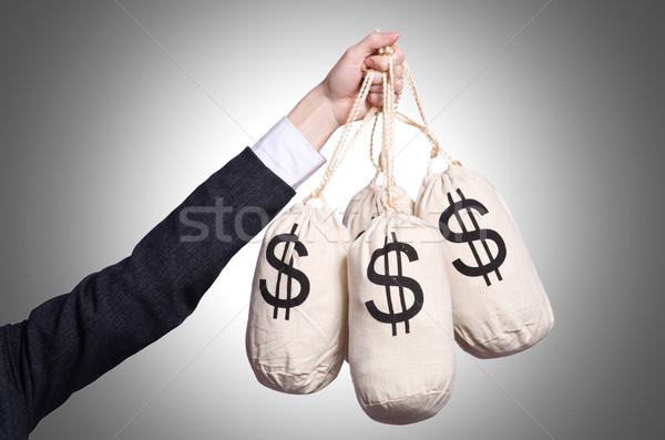 женщину деньги белый бизнеса служба лице Сток-фото © Elnur