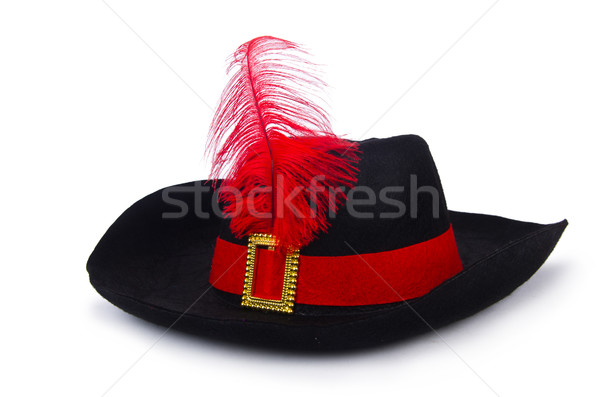 Pirate hat isolated on white Stock photo © Elnur
