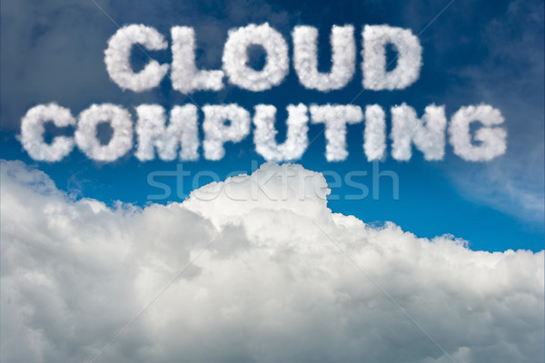 Cloud computing storage in IT concept Stock photo © Elnur