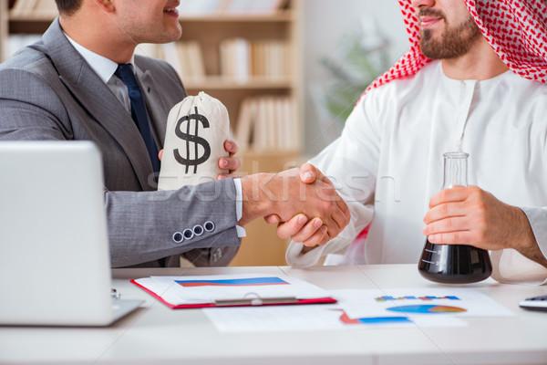 Różnorodny działalności Emiraty biznesmen biuro ceny Zdjęcia stock © Elnur
