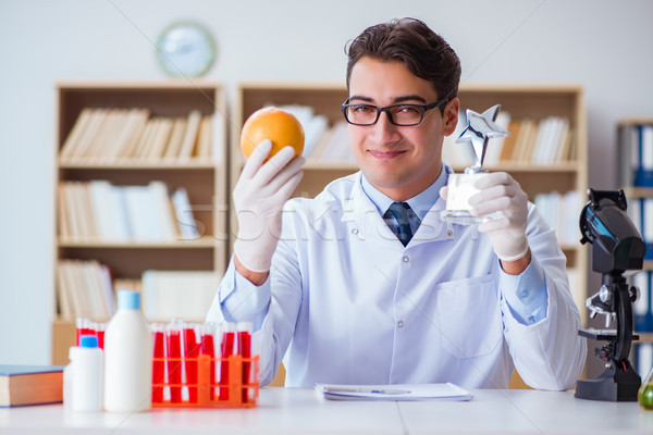 Doctor scientist receiving prize for his research discovery Stock photo © Elnur