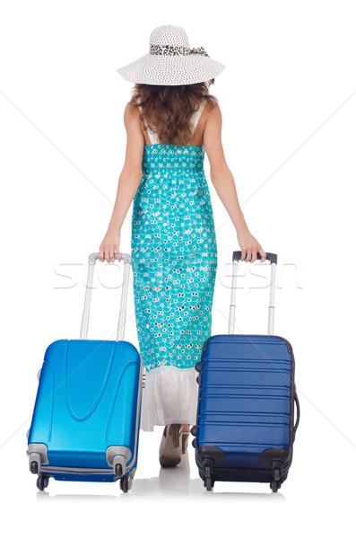 Foto d'archivio: Donna · viaggio · business · lavoro · imprenditore