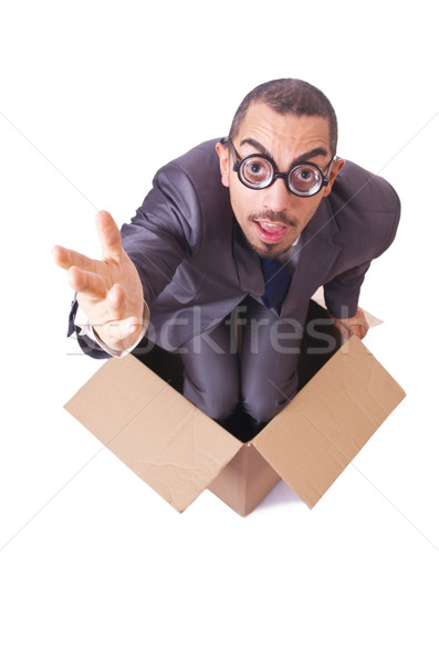 Thinking out of box concept Stock photo © Elnur