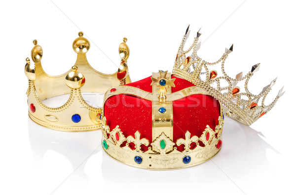 King crown isolated on white Stock photo © Elnur