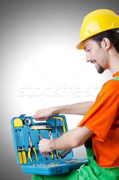 промышленных человека работу работник работу Сток-фото © Elnur
