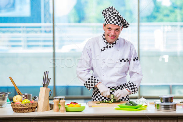 男性 調理 キッチン 食品 手 ストックフォト © Elnur