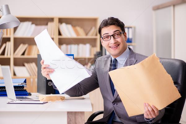 Affaires lettre bureau affaires papier mail Photo stock © Elnur
