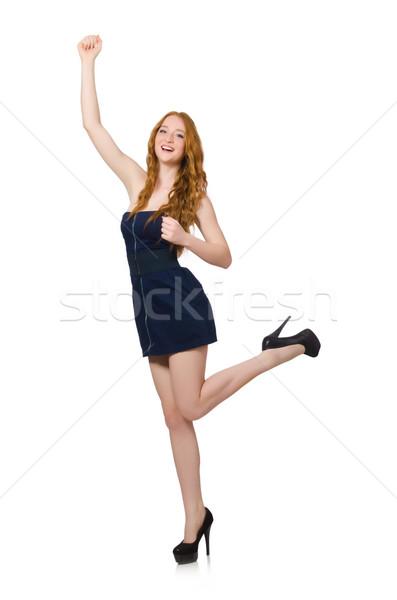 Donna moda abbigliamento ragazza dance modello Foto d'archivio © Elnur