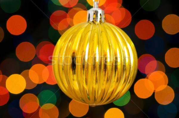 Natale decorazione sfondo spazio palla Foto d'archivio © Elnur