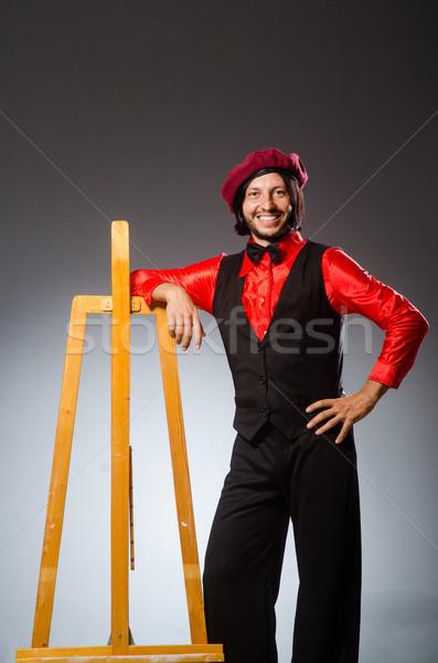 Man artist in art concept Stock photo © Elnur