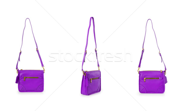 Set of woman bags isolated on the white Stock photo © Elnur