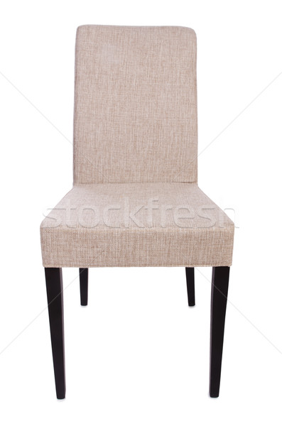 Dining room chair isolated on white Stock photo © Elnur