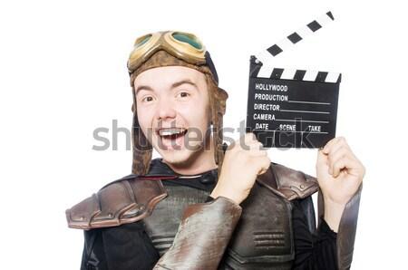 Funny prisión preso mano película película Foto stock © Elnur