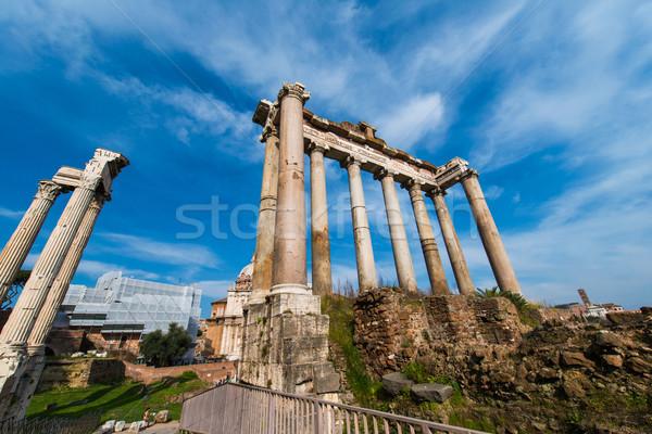 древних Рим ярко лет день здании Сток-фото © Elnur
