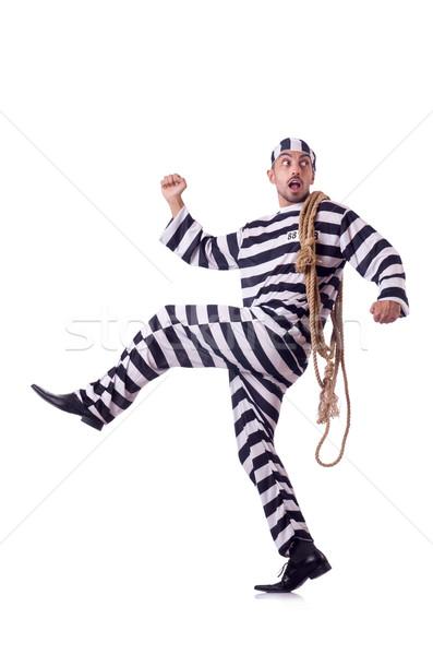 刑務所 受刑者 孤立した 白 男 法 ストックフォト © Elnur
