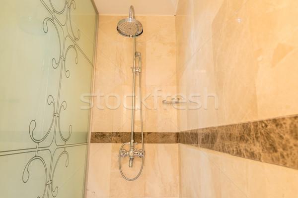 Moderna bano interior bañera agua salud Foto stock © Elnur